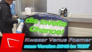 Kwazar Venus Foamer 2018 neue Version ohne DEFEKT! Alta Foam 2000 Gloria FM10 Alternative