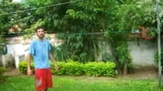 preview picture of video 'Paraguay bajo la luvia, Mango sobre mi cabeza'