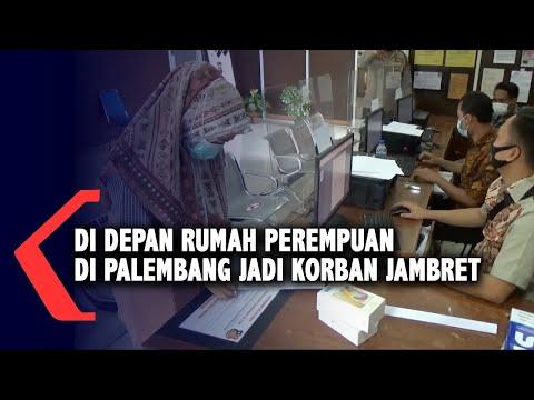 Di Depan Rumah Perempuan Di Palembang Jadi Korban Jambret
