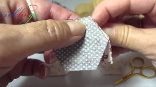 How To Hand Sew Hexagons