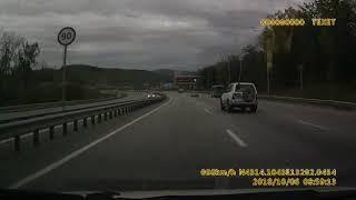 Жёсткая авария во Владивостоке Фетисов арена