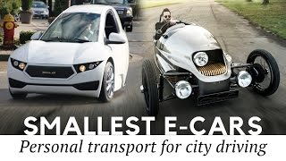 Top 10 Smallest Cars And Best 2-seater Electric Vehicles For City Driving