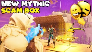 NEW Mythic SCAM Box is Legendary! 😱 (Scammer Gets Scammed) Fortnite Save The World