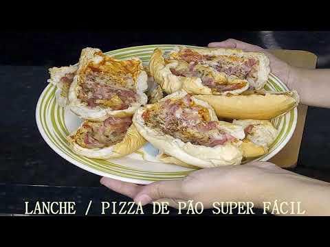 LANCHE  / PIZZA DE PO ( SUPER FCIL)