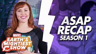 ASAP Recap of Marvel's Runaways Season 1! | Earth's Mightiest Show Bonus