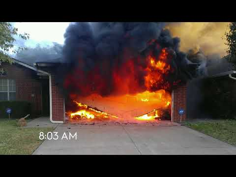 ADT Fire Alarm and First Responders Save Oklahoma Family from Burning House