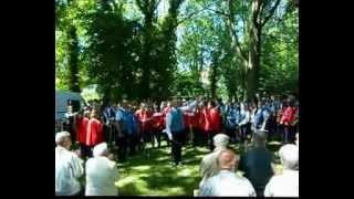 preview picture of video 'AMV Neufeld und Musikkapelle Langenau - Marsch Neufeld grüßt Langenau von Johann Hausl'