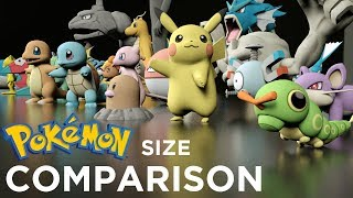 Pokemon Size Comparison