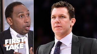 Speed of Luke Walton hire by Kings is problematic - Stephen A. | First Take