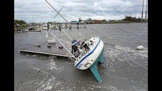 Hurricane Dorian hits Atlantic Canada as Category 2 storm
