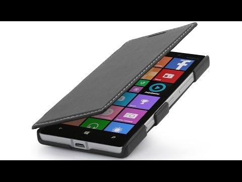 """Handyhülle für Nokia Lumia 930 """"Book Type"""" aus Leder von StilGut"""