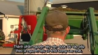 Máy trộn thức ăn Jaylor - TMT: Dinh dưỡng bò sữa/Tải thức ăn đúng cách
