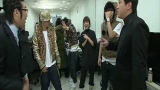 Big Bang, WonderBang - Surprise Interview before Musical Stage