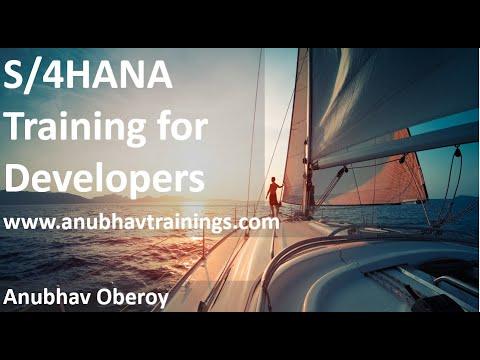 SAP S/4HANA End-to-End Training | Build S4HANA App in 30 ...