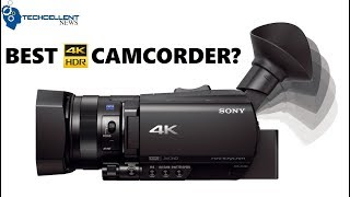 Sony FDR-AX700 4K HDR Camcorder Full Review: A Tech YouTuber's Perspective