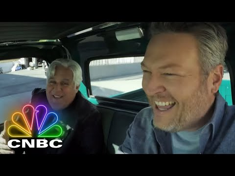 Blake Shelton Takes Jay Leno For a Ride in a GMC Pickup Truck   Jay Leno's Garage