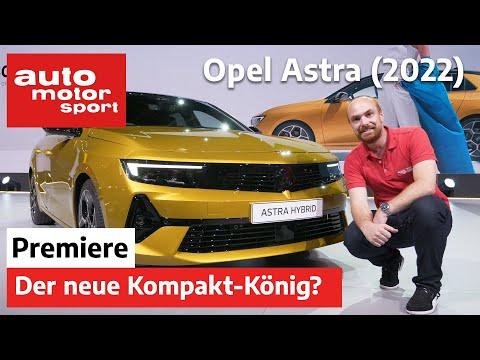 Opel Astra (2022): Ist das der neue König unter den Kompakten? – Neuvorstellung   auto motor sport