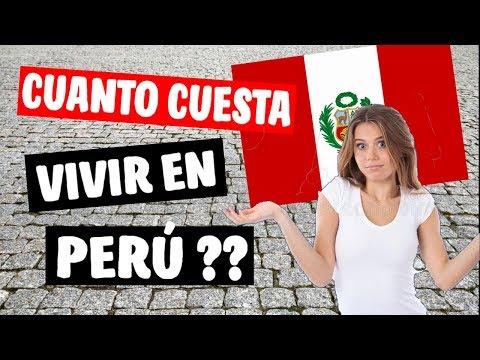 ✔ Conoce los COSTOS de Vida en Perú al Emigrar | Alimentos, Alquiler, etc.