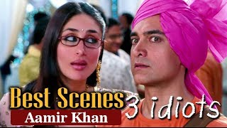 Best Scenes Of Aamir Khan From 3 Idiots | R. Madhavan, Sharman Joshi