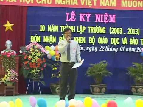 10 năm thành lập trường THCS Long Kiến - Chợ Mới - An Giang - phần 3