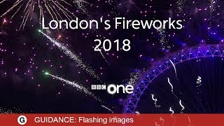 London Fireworks 2018 LIVE - New Year