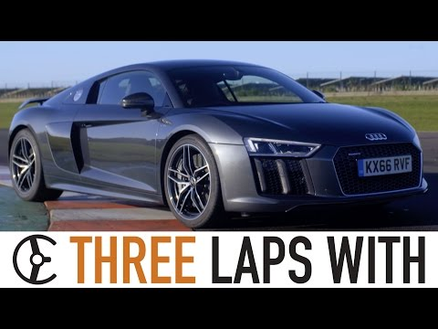 Audi R8 V10 Plus: Three Laps With - Carfection