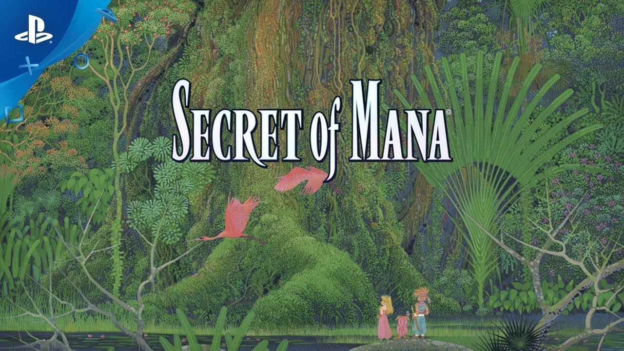 Secret of Mana Chega Hoje para o PS4