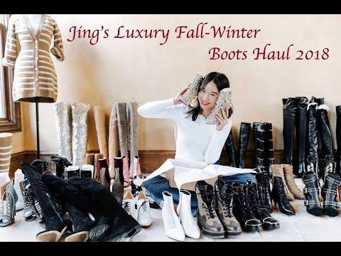 Luxury Designer Fall-Winter Boots Haul