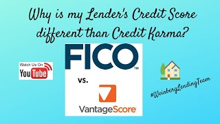 Why is my Mortgage Lenders' Credit Score Different Than the Score I Got Elsewhere?