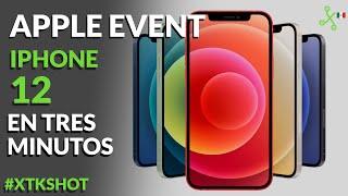 Los nuevos iPhone 12 NO TRAEN CARGADOR: resumen de Apple Evento en TRES MINUTOS