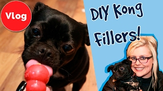 How To Make DIY Kong Fillers! Healthy Treats To Fill Your Kong.