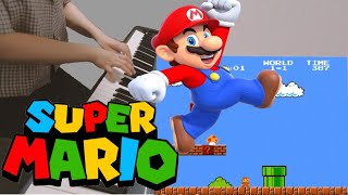 슈퍼마리오 Piano Cover