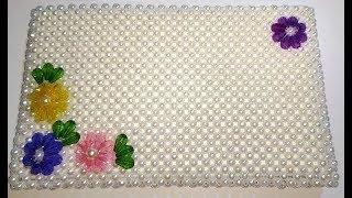 How to Make Crystal/ Beaded Purse/Hand Bag ||Clutch||Hand Purse. Design 27 |Nomi.Namita crafts|