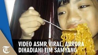 Viral karena Akui Kebohongannya di Video ASMR Samyang, Aurora Dapat Hadiah Spesial dari Tim Samyang