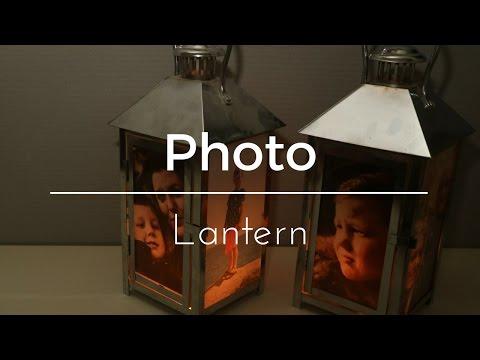 DIY Foto Lantaarn