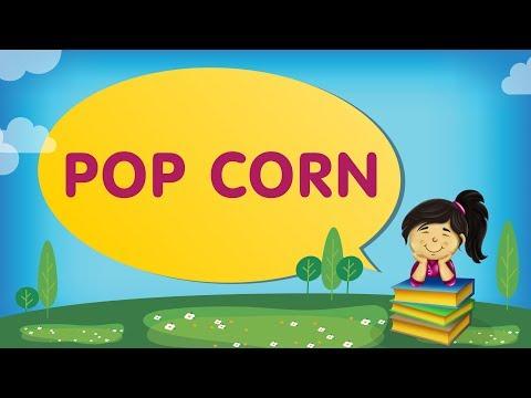 POP CORN | Cantinho da Criança com a Tia Érika