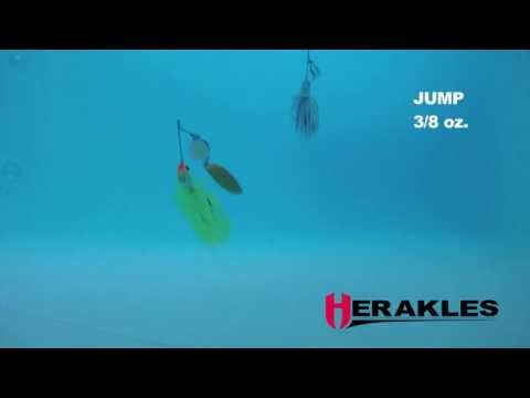Colmic Spinnerbait Jump 10.5g Chartreuse/Lime