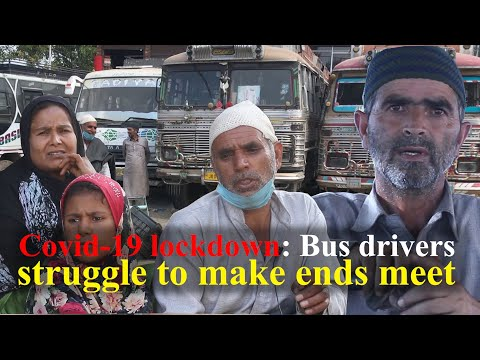 Covid-19 lockdown: Bus drivers struggle to make ends meet