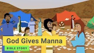 """Kindergarten Year B Quarter 3 Episode 12 """"God Gives Manna"""""""