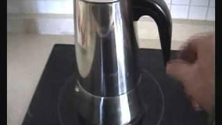 Anleitung Kaffee machen mit einem Espressokocher - Bialetti Venus ist es nicht-  wie in Andalusien