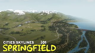 I'm Recreating Springfield in Cities Skylines | 01