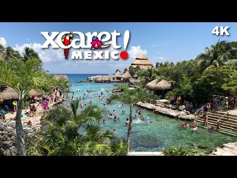 Xcaret Eco Park Riviera Maya Attractions Mexico Cancun 4K UHD