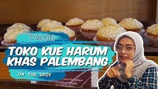 VLOG | Mencicipi Kue Khas Palembang di Toko Kue Harum, Cocok untuk Oleh-oleh
