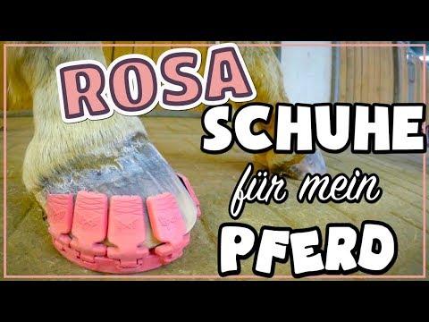 Rosa Schuhe für mein Pferd ✮ wie ich das selbst gemacht habe ♥ Megasus Horserunners