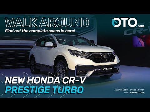 Walk Around | New Honda CR-V Prestige Turbo