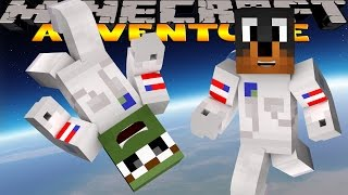 Minecraft - Donut The Dog Adventures - BECOMING AN ASTRONAUT!!!!