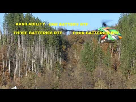 TEST FLIGHT EACHINE E130 HELICOPTER
