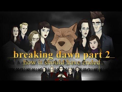 Jak měla skončit Twilight sága: Rozbřesk