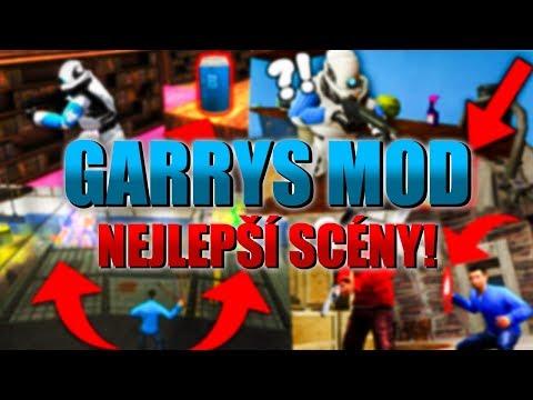 GARRYS MOD NEJLEPŠÍ SCÉNY!