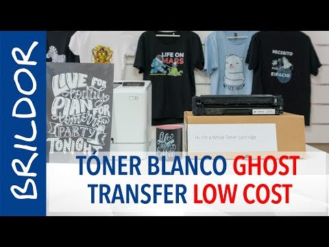 Tóner blanco Low Cost Ghost